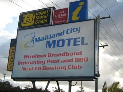 Maitland City Motel - Accommodation Sunshine Coast