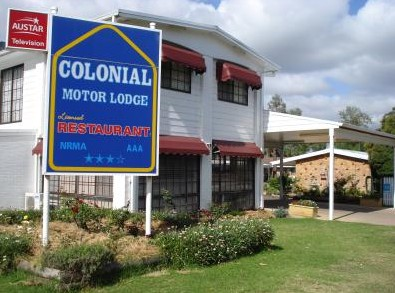 Colonial Motor Lodge - Accommodation Sunshine Coast