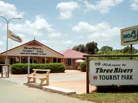 Mundubbera Three Rivers Tourist Park - Accommodation Sunshine Coast