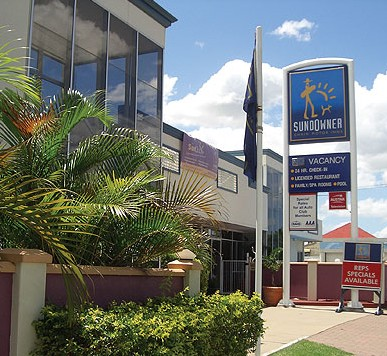 Sundowner Chain Motor Inn Rockhampton - Accommodation Sunshine Coast