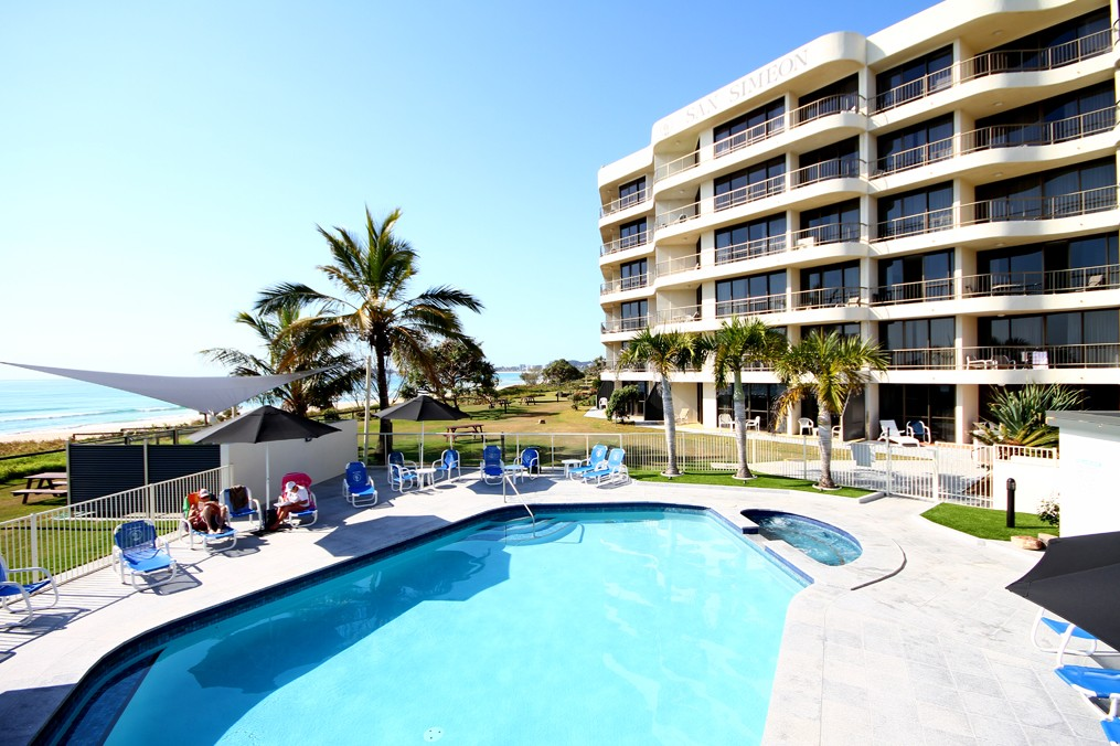 San Simeon Beachfront Apartments - Accommodation Sunshine Coast