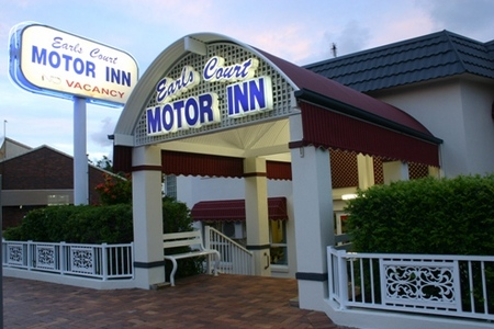 Earls Court Motor Inn - Accommodation Sunshine Coast