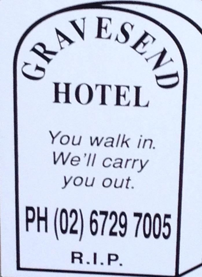Gravesend Hotel - Accommodation Sunshine Coast