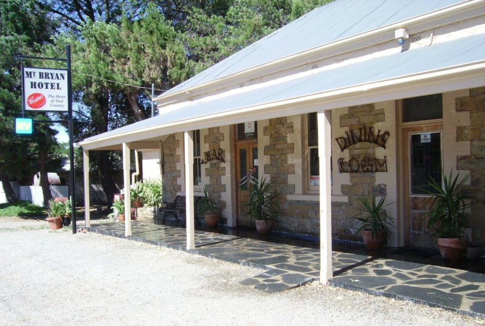 Mount Bryan Hotel - Accommodation Sunshine Coast