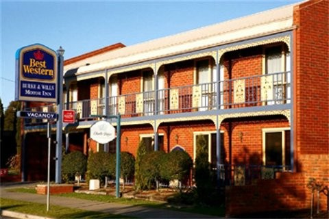 Best Western Burke amp Wills Motor Inn - Accommodation Sunshine Coast