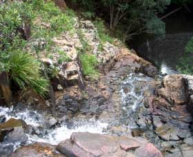 Gypsy Falls Waterfall   Retreat - Accommodation Sunshine Coast