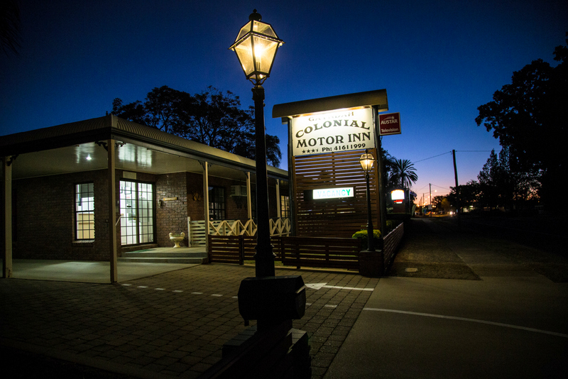 Gayndah Colonial Motor Inn - Accommodation Sunshine Coast