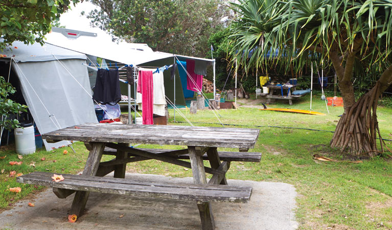 Sandon River campground - Accommodation Sunshine Coast