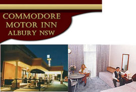 Commodore Motor Inn - Accommodation Sunshine Coast