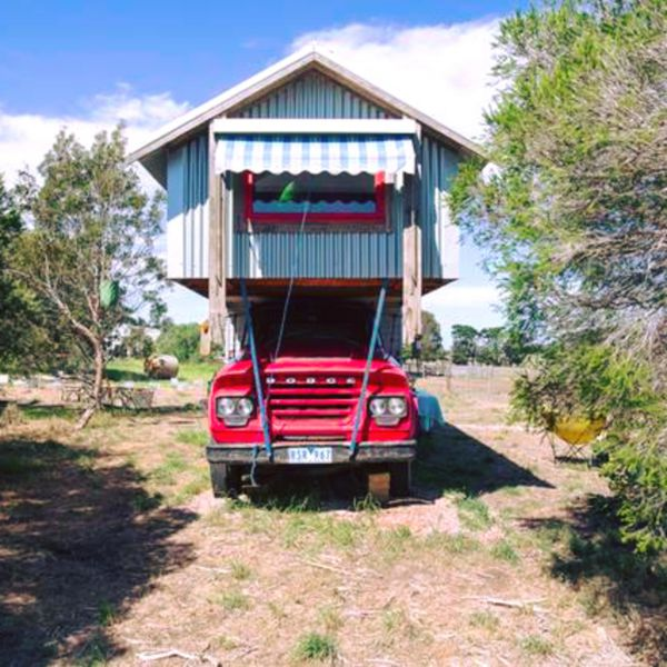 Torquay Farmstay  Blue Studio Truck - Accommodation Sunshine Coast