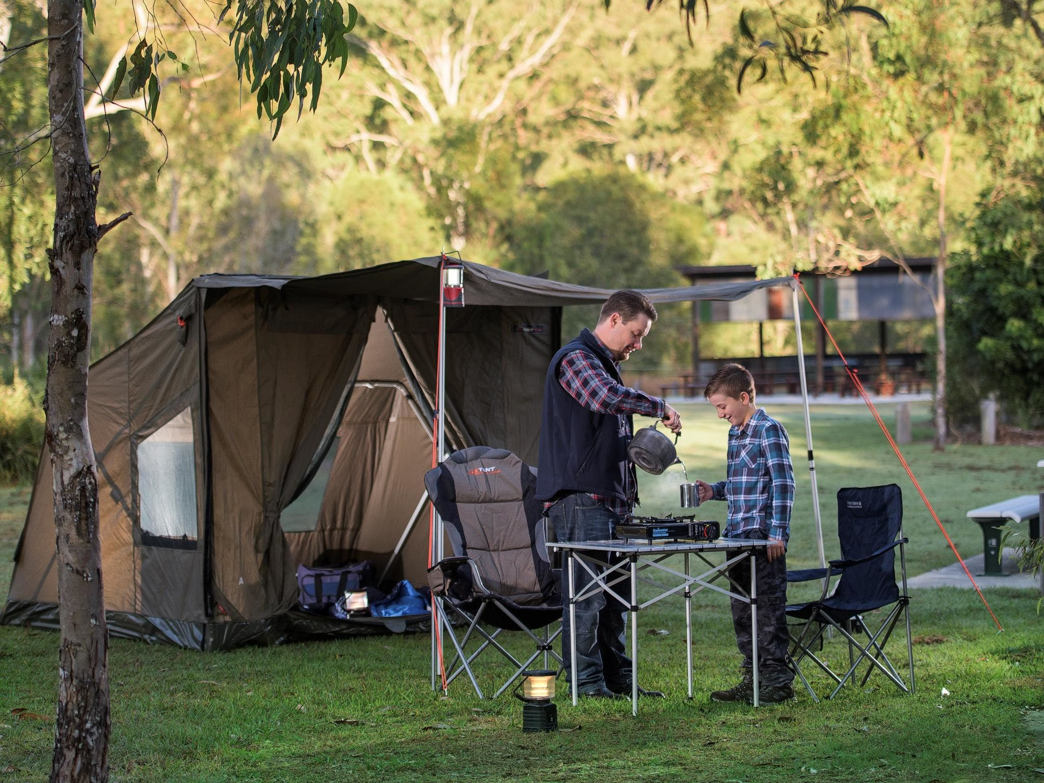 Hardings Paddock Campground - Accommodation Sunshine Coast