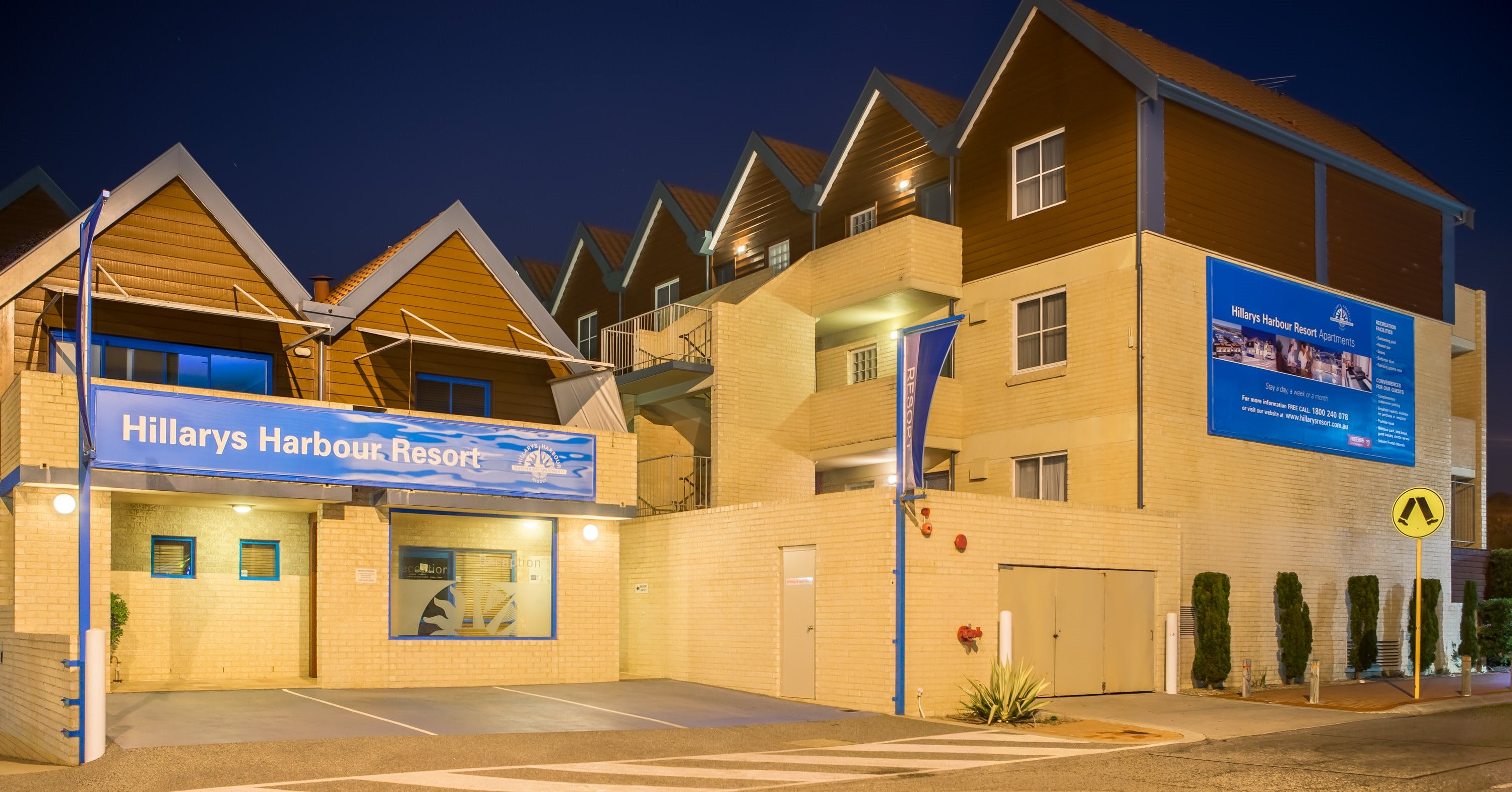 Hillarys Harbour Resort - Accommodation Sunshine Coast