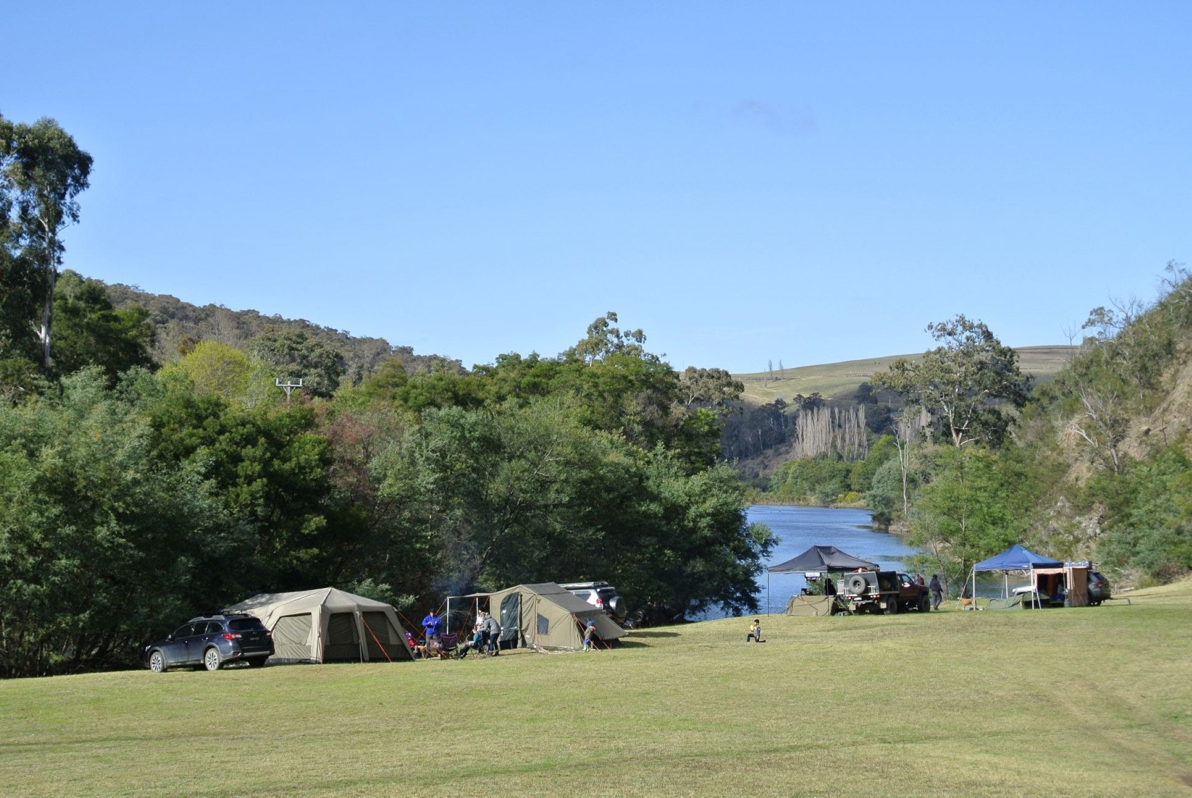 Montana on the Macalister Campground  Caravan Park - Accommodation Sunshine Coast