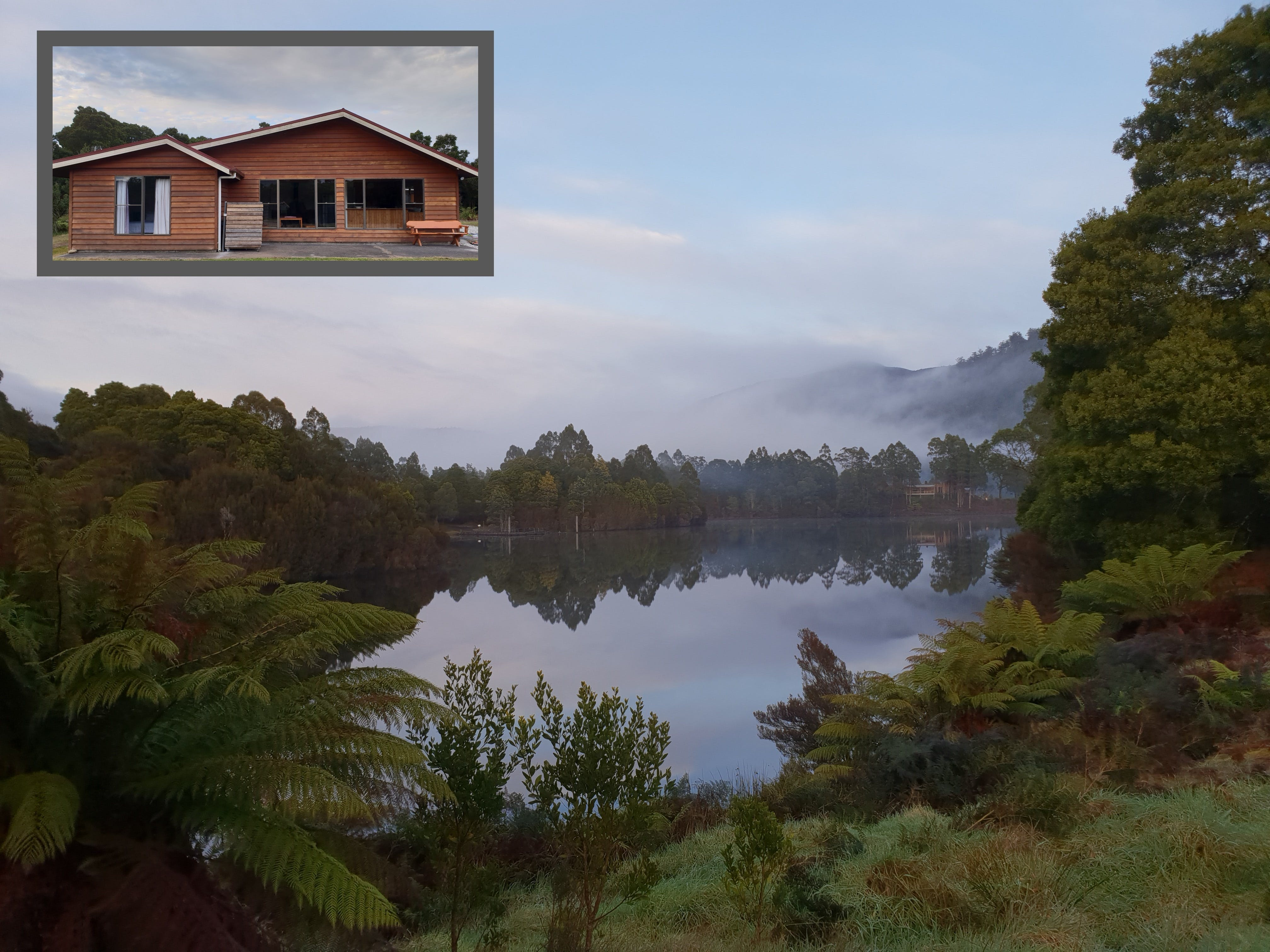 Tullah HideAway - Lakeside  Mountain Views - Accommodation Sunshine Coast