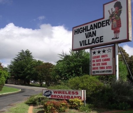 Highlander Van Village - Accommodation Sunshine Coast