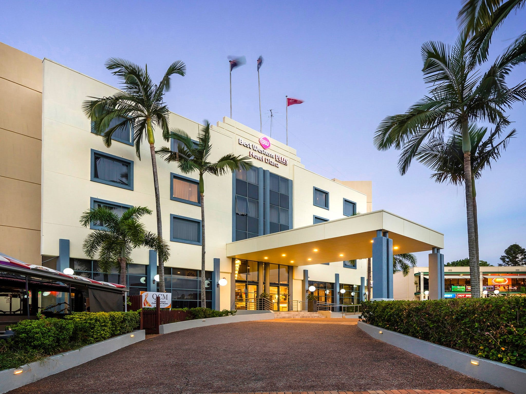 Best Western Plus Hotel Diana - Accommodation Sunshine Coast