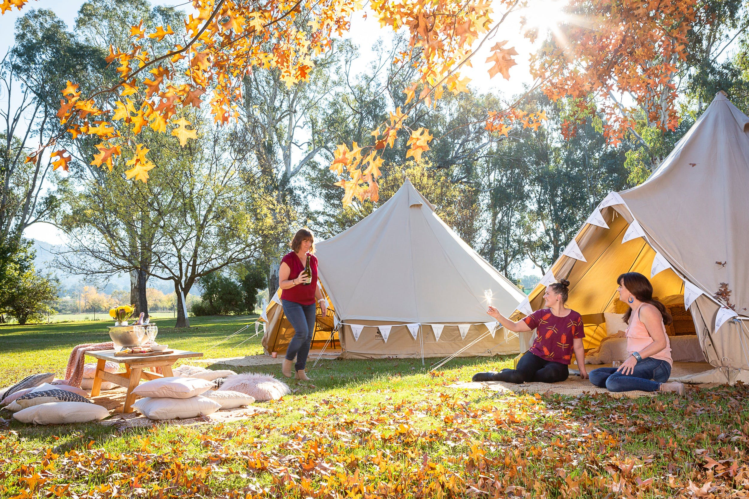 Valley View Glamping - Accommodation Sunshine Coast