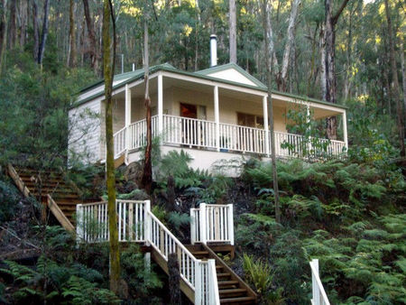 Myers Creek Cascades Luxury Cottages - Accommodation Sunshine Coast