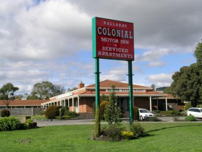 Ballarat Colonial Motor Inn - Accommodation Sunshine Coast