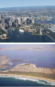 Sydney By Air - Accommodation Sunshine Coast