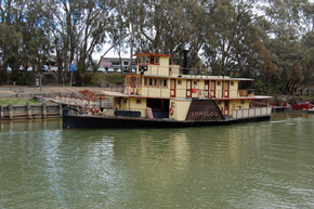 Emmylou Paddle Steamer - Accommodation Sunshine Coast