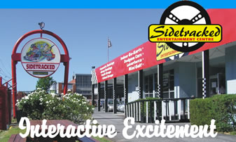 Sidetracked Entertainment Centre - Accommodation Sunshine Coast