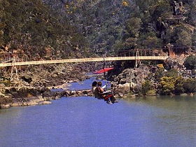 Launceston Cataract Gorge  Gorge Scenic Chairlift - Accommodation Sunshine Coast