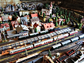 Tudor Court Model Village and German Model Train World