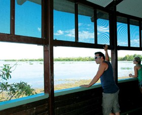 Mamukala Wetlands and Bird Hide - Accommodation Sunshine Coast