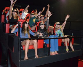 7D Cinema - Virtual Reality - Accommodation Sunshine Coast