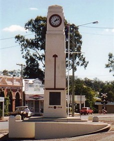 Goomeri War Memorial Clock - Accommodation Sunshine Coast