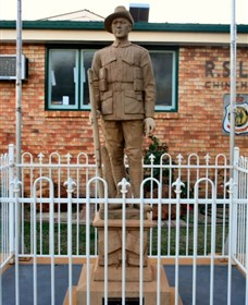 Soldier Statue Memorial Chinchilla - Accommodation Sunshine Coast