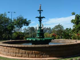 Band Rotunda and Fairy Fountain - Accommodation Sunshine Coast