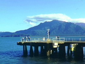 Lucinda Jetty - Accommodation Sunshine Coast