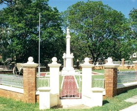 Boonah War Memorial and Memorial Park - Accommodation Sunshine Coast
