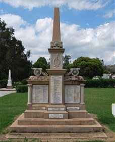Boer War Memorial and Park - Accommodation Sunshine Coast