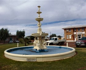 Cunnamulla War Memorial Fountain - Accommodation Sunshine Coast