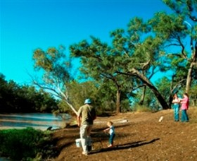 Charleville - Dillalah Warrego River Fishing Spot - Accommodation Sunshine Coast
