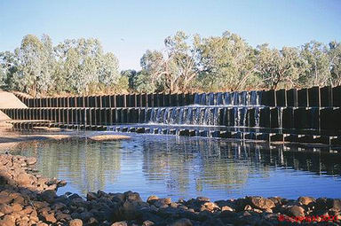 Allan Tannock Weir - Accommodation Sunshine Coast