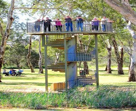 Darling and Murray River Junction and Viewing Tower - Accommodation Sunshine Coast