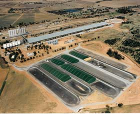 Co-operative Bulk Handling CBH Wheat Storage and Transfer Depot - Accommodation Sunshine Coast