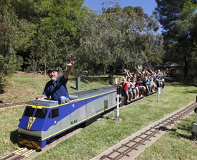 Willans Hill Miniature Railway - Accommodation Sunshine Coast