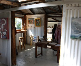 Tin Shed Gallery - Accommodation Sunshine Coast