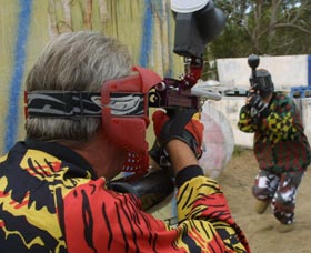 Paintball Skirmish - Accommodation Sunshine Coast