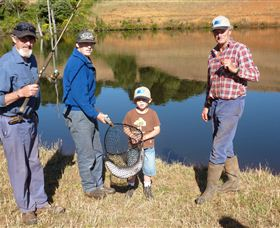 Natone Hills Fly Fishery - Accommodation Sunshine Coast