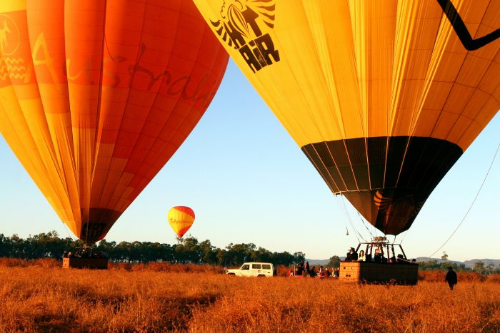Hot Air Balloon Scenic Rim - Accommodation Sunshine Coast