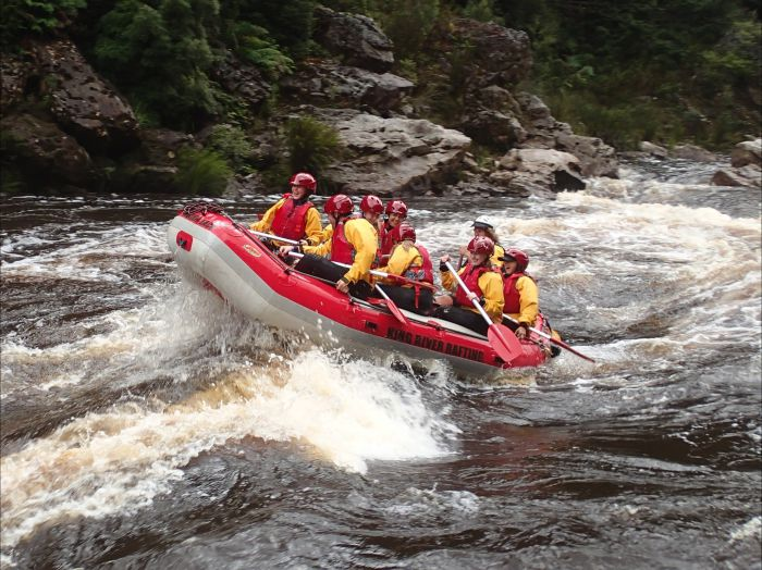 King River Rafting - Accommodation Sunshine Coast