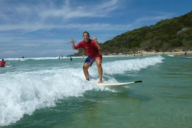 Rainbow Beach Surf School 2 Hour Main Beach Surf Lesson - Accommodation Sunshine Coast