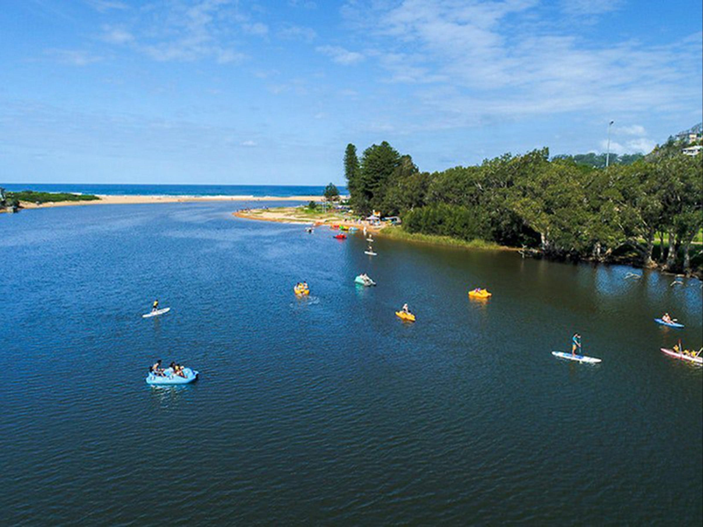 Avoca Lake - Accommodation Sunshine Coast