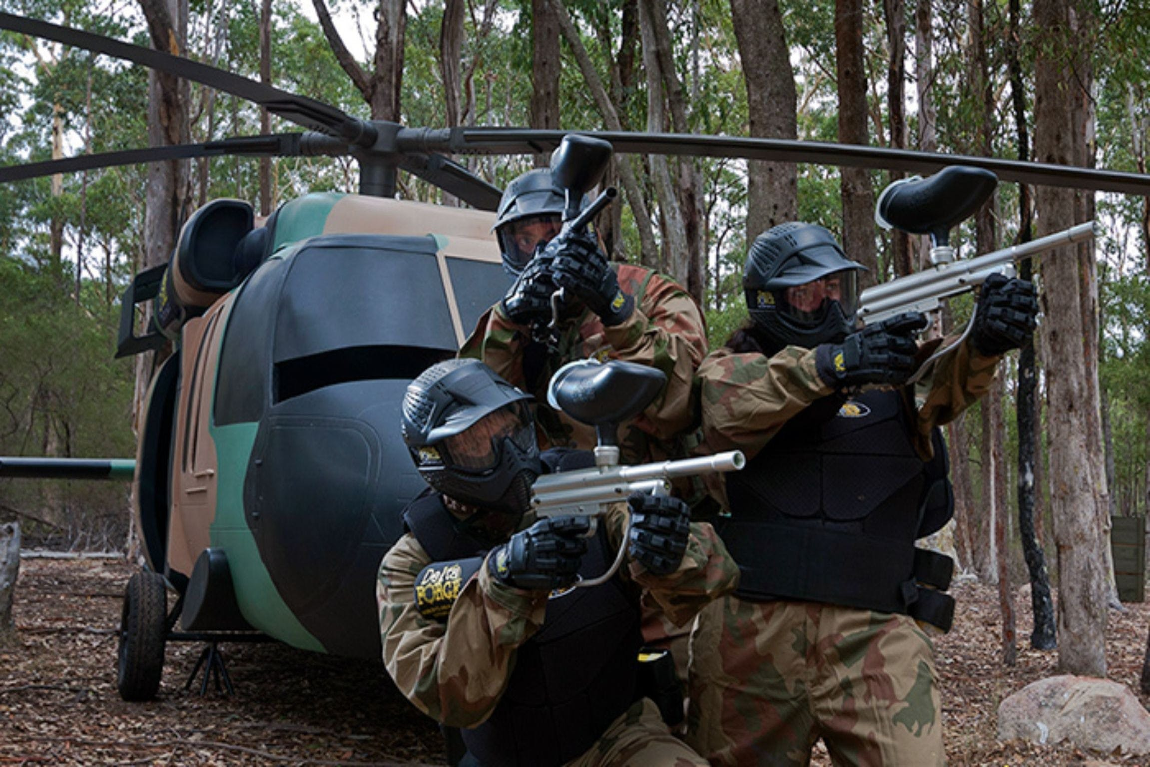 Delta Force Paintball Appin - Accommodation Sunshine Coast